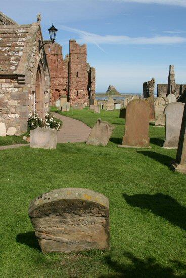 St. Mary's Churchyard, Holy Island, Lindisfarne