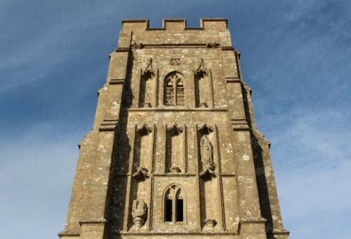 St. Michael's Church Tower, Glastonbury Tor, Glastonbury