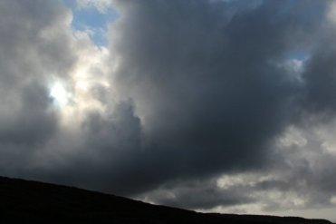 Storm clouds, Porlock Hill, Exmoor