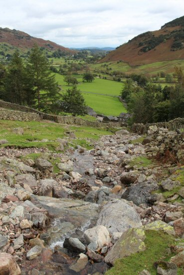 Stream from Dungeon Ghyll, Great Langdale