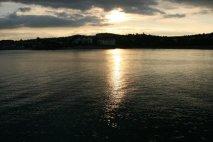 Sunset, from pier, Torquay