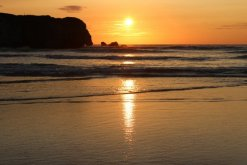 Sunset, Perranporth