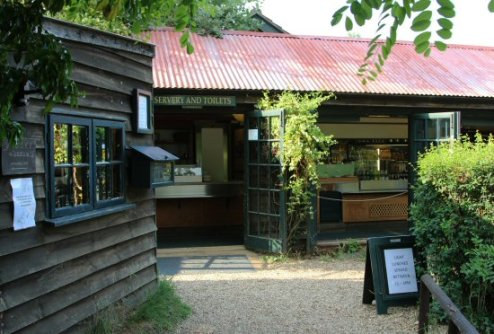 Tea Pavilion, The Orchard Tea Garden, Grantchester