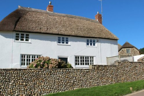 Thatched cottage, Seatown