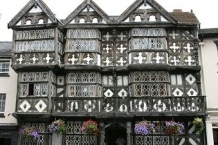 The Feathers Hotel, The Bull Ring, Ludlow