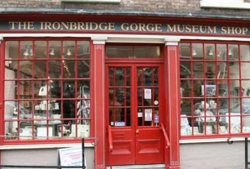 The Ironbridge Gorge Museum Shop, Ironbridge