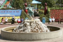 The Jolly Fisherman Fountain, Skegness