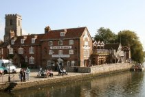 The Old Granary, on the River Frome, Wareham