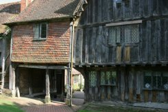 The Old Guildhouse and Archway, Leicester Square, from St. John the Baptist Churchyard, Penshurst