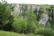 The Pinnacles, from north rim, Cheddar Gorge, Cheddar