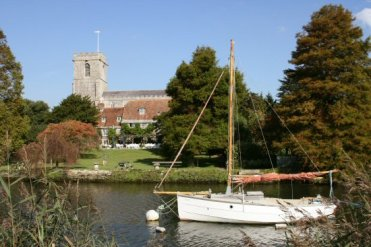 The Priory Hotel and St. Mary's Church, Wareham