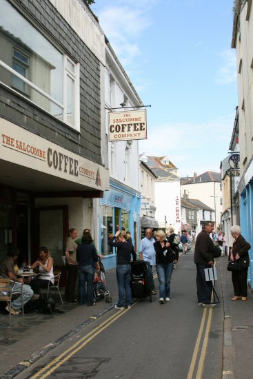 The Salcombe Coffee Company, Salcombe