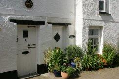 Tilly's Cottage and Little Folks Cottage, Lower Chapel Street, East Looe, Looe
