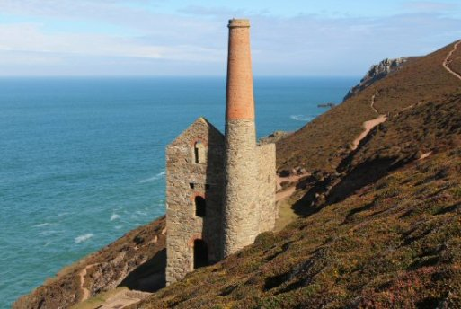 Towanroath Shaft Pumping Engine House, Wheal Coates Mine, St. Agnes