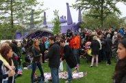 Udderbelly Festival Venue, Jubilee Gardens, Queen's Diamond Jubilee, Thames Pageant