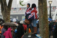 Vantage point, Queen's Diamond Jubilee, Thames Pageant