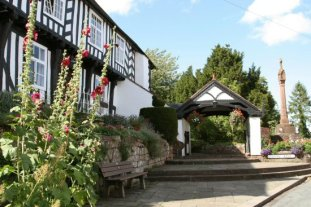 Vicarage, Lychgate and the Cross, Bull Ring, Claverley