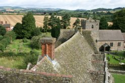 View from South Tower, Stokesay Castle