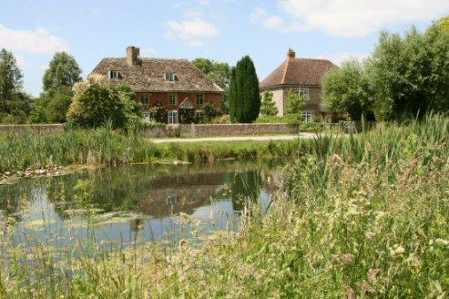 Village pond, Frampton on Severn
