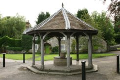 Village Well, Ashford in the Water