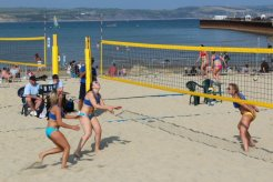 Volleyball England Beach Tour, (womens) 2011, Weymouth