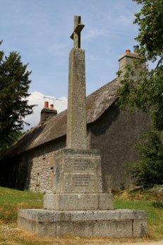 War Memorial, St. Winifred's Churchyard, Manaton