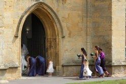 Wedding, St. Cuthbert's Church, Wells