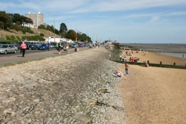 Westcliff Beach and Western Esplanade, Southend-on-Sea