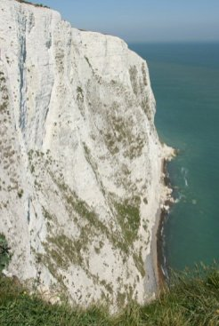 White Cliffs of Dover, from Langdon Cliffs