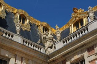 Above Marble Courtyard, Palace of Versailles