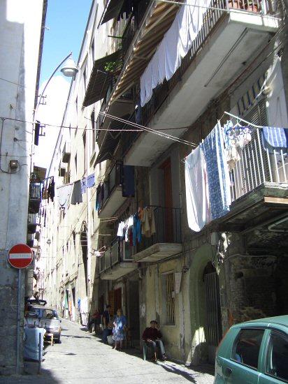 Back street, Naples