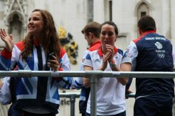 Beth Tweddle, Gymnastics. Olympic and Paralympic Victory Parade 2012