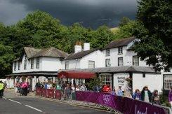 Burford Bridge Hotel, Dorking. Women's Olympic Road Cycling Road Race, 2012
