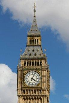 Clock face, Big Ben. Women's Olympic Marathon, 2012