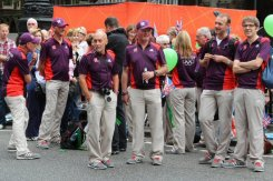 Games Makers. Olympic and Paralympic Victory Parade 2012