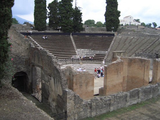 Great Theatre, Pompeii