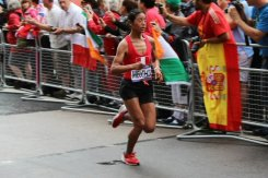 Ines Melchor, Peru. Women's Olympic Marathon, 2012
