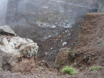 Inside the Crater, Mount Vesuvius