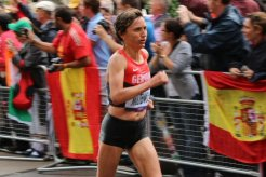 Irina Mikitenko, Germany. Women's Olympic Marathon, 2012