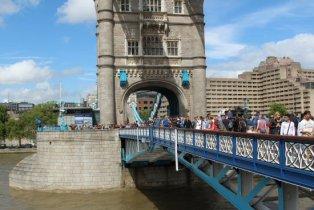 Lower Walkway, Tower Bridge. London 2012 Olympic Games