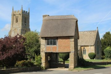 Lych Gate, St. Peter and St. Paul Church, Long Compton