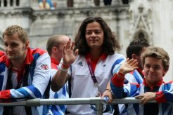 Matthew Whorwood, Swimming. Olympic and Paralympic Victory Parade 2012