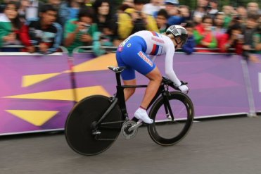 Olga Zabelinskaya, Russia, Bronze Medal, Hampton Court. Olympic Road Cycling Time Trials, 2012