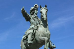Statue of Louis XIV, Palace of Versailles