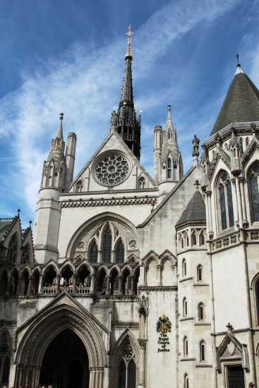 The Royal Courts of Justice. Olympic and Paralympic Victory Parade 2012