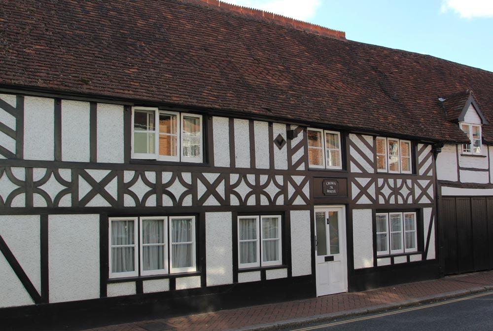 Crown House, Sophie's orphanage, in Roald Dahl's The BFG, Great Missenden