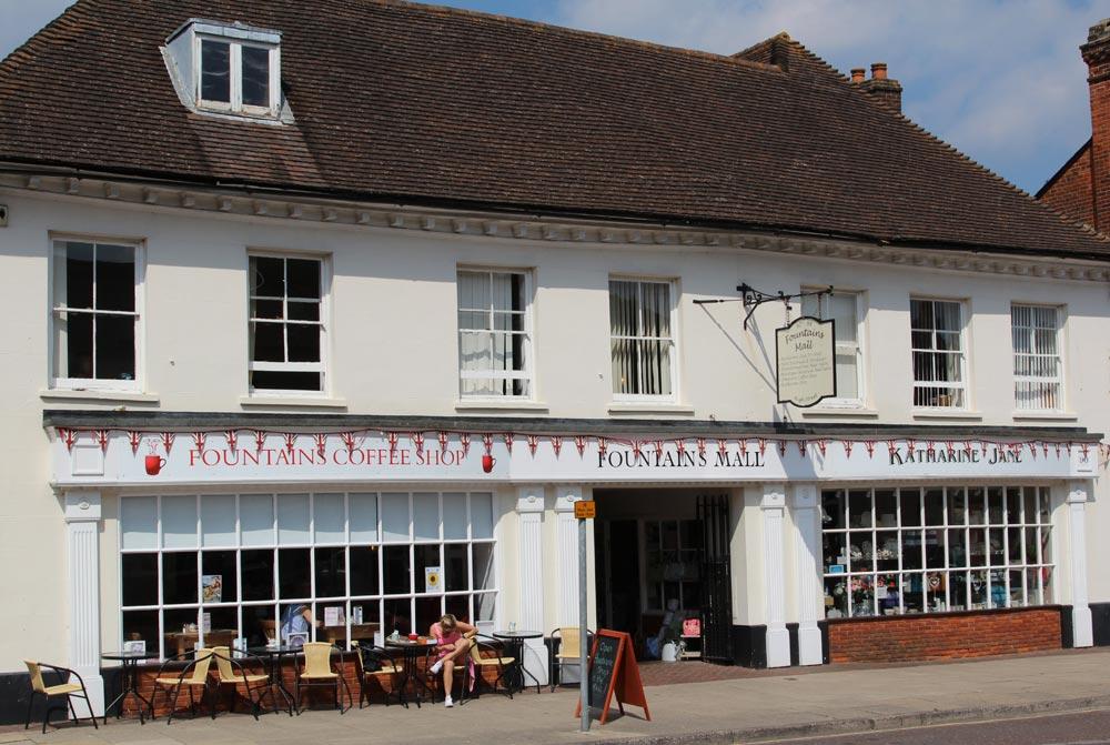 Fountains Coffee Shop, Fountains Mall, High Street, Odiham