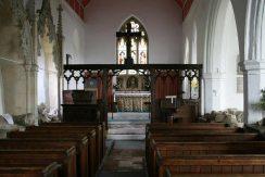Interior, St. Mary's Church, Aldworth