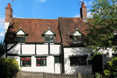 Square Cottage and May Cottage, Yattendon