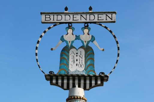 The Biddenden Maids Village Sign, Biddenden